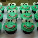 Coolest Frog Cupcakes - Web's Largest Homemade Birthday Cake Photo Gallery