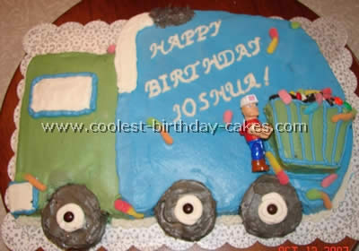 Coolest Garbage Truck Cake Ideas and Photos