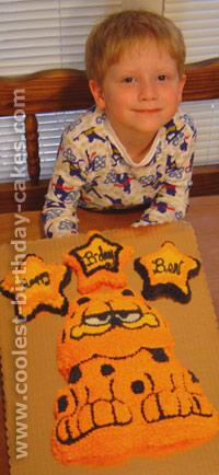 Garfield Cake Photo