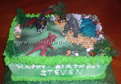Coolest Godzilla Cake Ideas and Photos