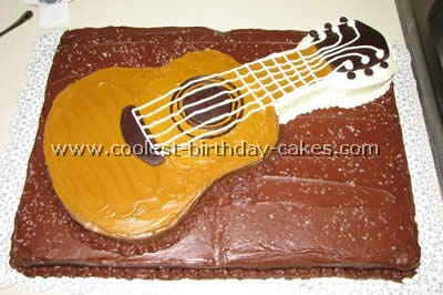 Awe Inspiring Coolest Guitar Cake Photos And How To Tips Funny Birthday Cards Online Barepcheapnameinfo