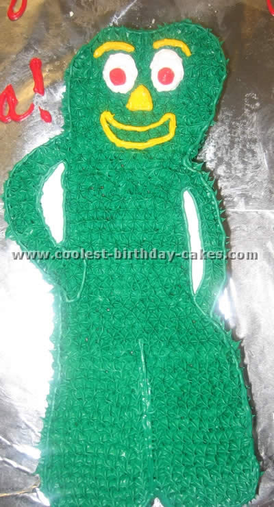 Coolest Gumby Cake Ideas and Photos