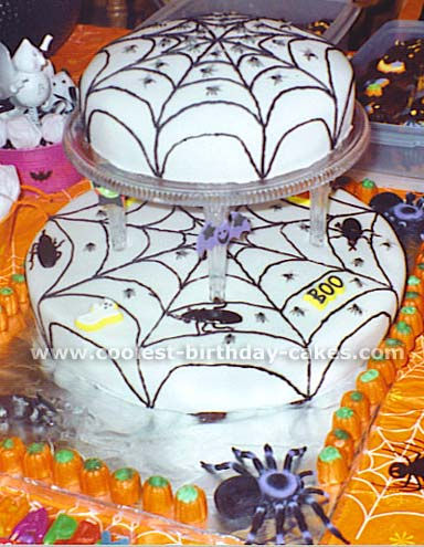 Halloween Cake Photo