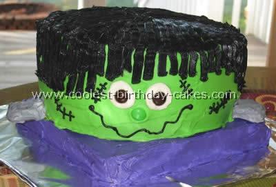 Halloween Cake Photo
