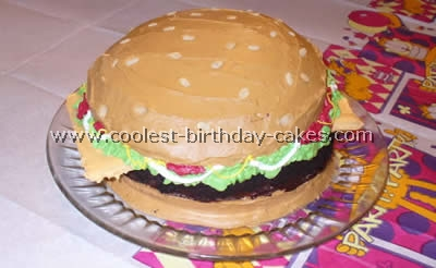 Coolest Hamburger Cake Photos And How To Tips