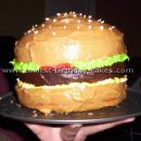 Coolest Hamburger Cake Photos and How-To Tips