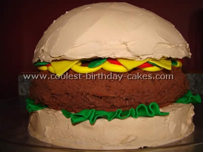 Coolest Hamburger Cake Photos and Tips