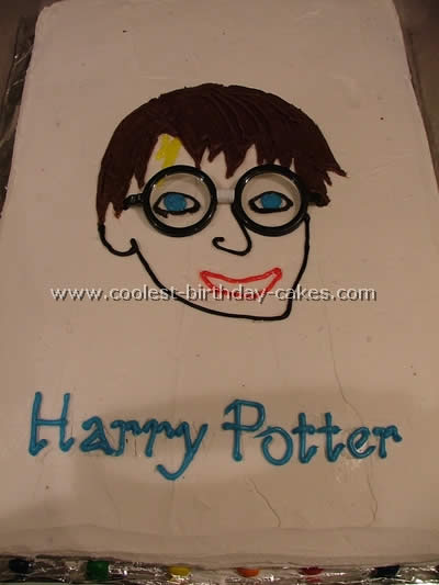 Harry Potter Character Cake Photo