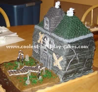 Haunted House Cake Photo