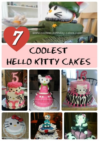 Excellent 100 Coolest Hello Kitty Cake Ideas And Diy Cake Decorating Tips Personalised Birthday Cards Paralily Jamesorg