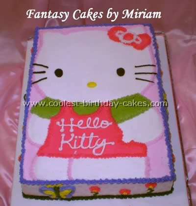 Coolest Hello Kitty Cake Photos and How-To Tips