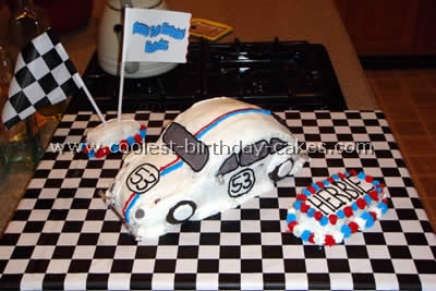 Herbie the Love Bug Cake Photo
