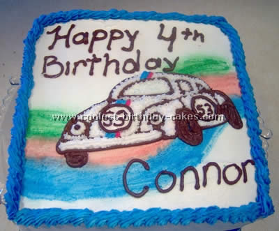 Coolest Herbie the Love Bug Cakes on the Web's Largest Homemade Birthday Cake Gallery