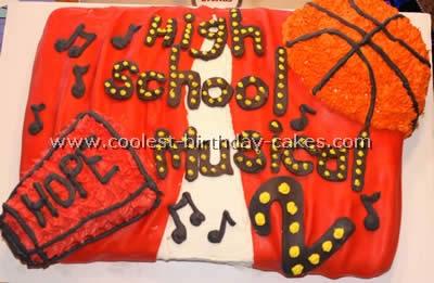 High School Musical Cake Photo