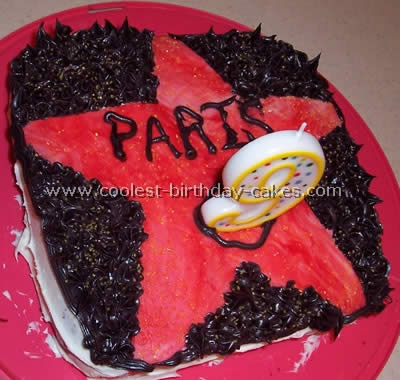 Astounding Coolest At The Movies Hollywood Cake Ideas Funny Birthday Cards Online Elaedamsfinfo