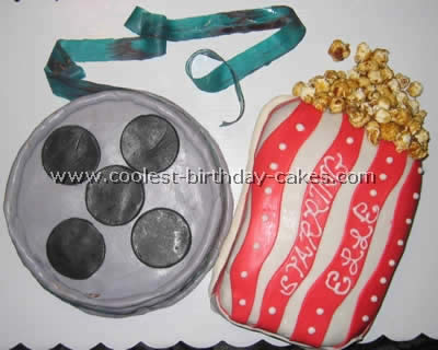 Coolest 'At the Movies' Hollywood Cake Ideas