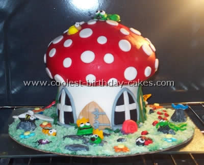 Remarkable Coolest Homemade Mushroom And Toadstool Cakes Personalised Birthday Cards Beptaeletsinfo