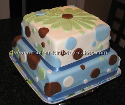 Coolest Polka Dot Cake Photos