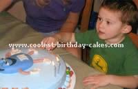 Candy-Shaped Homemade Cake Recipe Idea