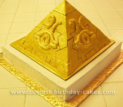 Incredible Coolest Homemade Pyramids And Pharaohs Cakes Funny Birthday Cards Online Necthendildamsfinfo