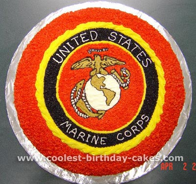 Army Helmet Birthday Cake Idea