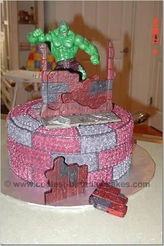 Hulk Picture Cake