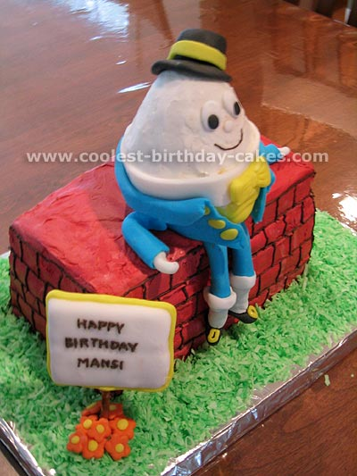 Humpty Dumpty Cake Photo