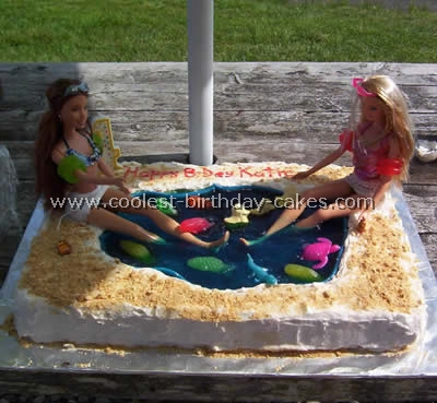 Pool and Jello Cake Recipe