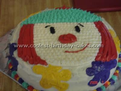 JoJo Circus Clown Cake Photo
