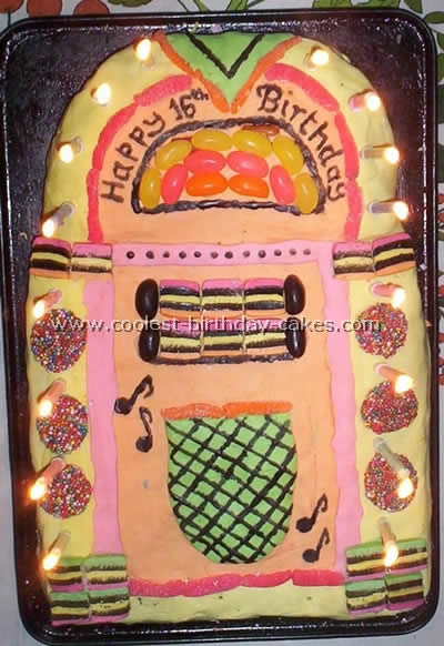 Coolest Jukebox Cake Photos and How-To Tips