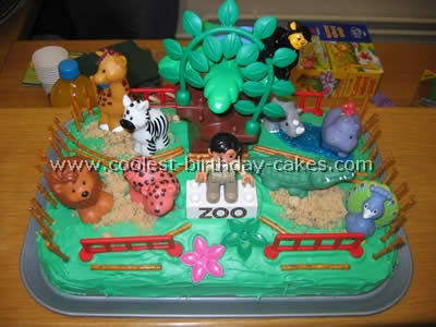 Pleasing Coolest Safari And Jungle Cake Ideas And Photos Birthday Cards Printable Trancafe Filternl