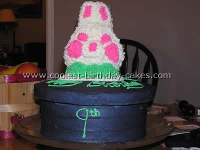 Magic and Wizard Kid Birthday Cake Photo