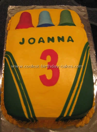 Web's Largest Homemade Kid Cake Photo Gallery and How-To Tips