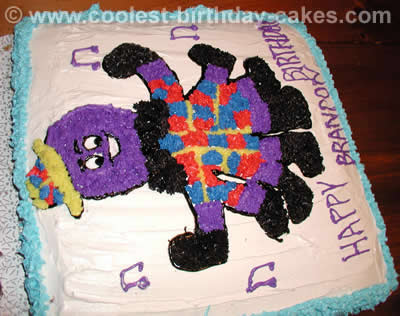 Henry the Octopus Kid Cake
