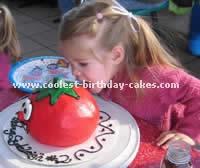 Bob the Tomato Kids Birthday Cake Ideas