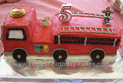Pleasant Coolest Kids Cakes Webs Largest Homemade Birthday Cake Photo Funny Birthday Cards Online Overcheapnameinfo