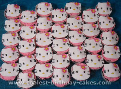 Coolest Kids Cupcake Ideas And Hello Kitty Cake Designs
