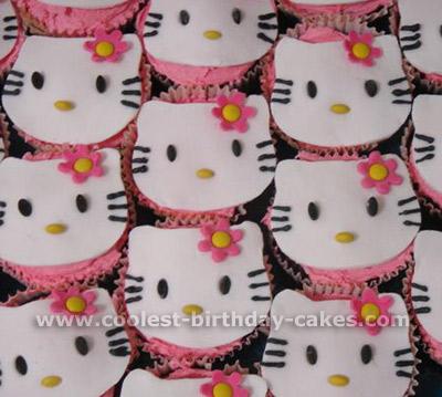 Hello Kitty Kids Cupcake Ideas