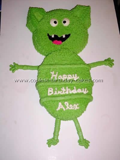 Alien Kids Cake