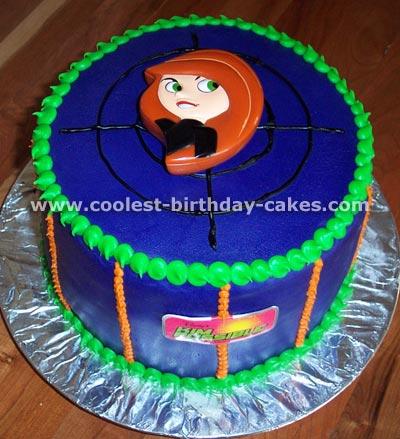 Kim Possible Cake Photo