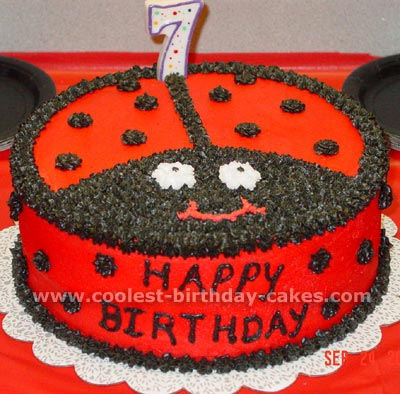 Fantastic Coolest Ladybug Cake Photos And How To Tips Funny Birthday Cards Online Aeocydamsfinfo