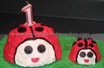 Cool Homemade Ladybug Cake Photos And How To Tips