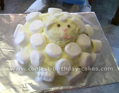 Brilliant Coolest Lamb Cake Photos Webs Largest Homemade Birthday Cake Birthday Cards Printable Inklcafe Filternl