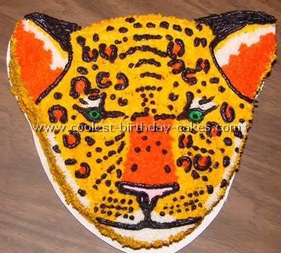 Pleasing Coolest Homemade Leopard Cakes Funny Birthday Cards Online Aeocydamsfinfo