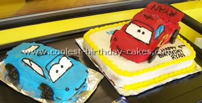 Coolest Lightning Mcqueen Cake Photos And Tips