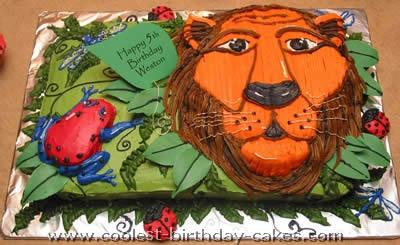 Coolest Lion Cake Photos