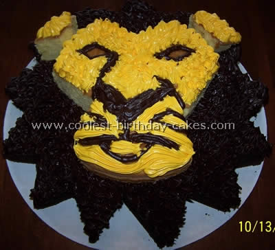 Coolest Lion Picture Cakes and Lion Cake Ideas