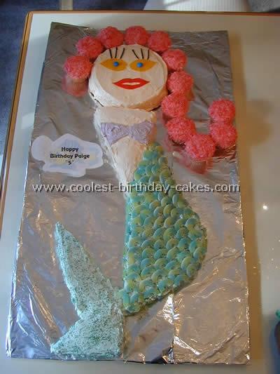 Coolest Little Mermaid Birthday Cake Ideas and Photos