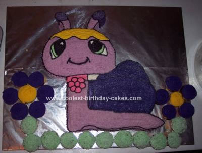 Coolest Petshop Snail Birthday Cake