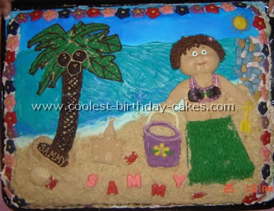 Coolest Cakes For Luau Parties